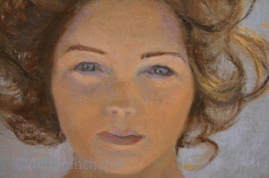 Women Painting Women, New Painting in Progress #womenpaintingwomen #portrait #femaleportrait #deborahchapin